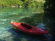 Stunning waters of Rio San Pedro