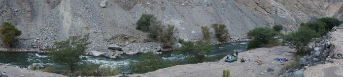 Cotahuasi - Riverside Camping