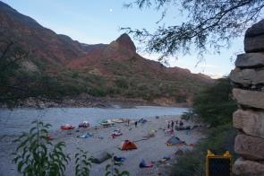 Marañon - Full moon camp