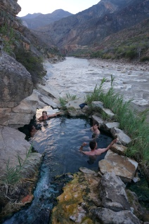 Riverside hotsprings!
