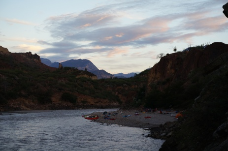 Marañon - Sunset camp