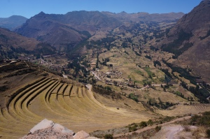 Landscapes around Cusco