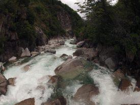 Scarily steep Rio Enrredadera