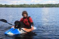 kayaking blackie