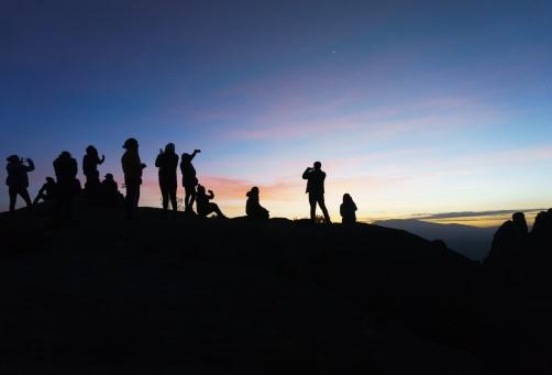 Tourists at Marcahuasi