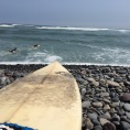 Surfing in Lima
