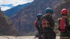 Comprehending the enormity of Muro Poso Canyon.